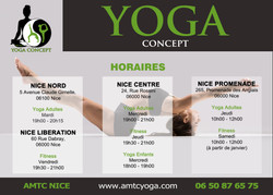 yoga concept nice horaires