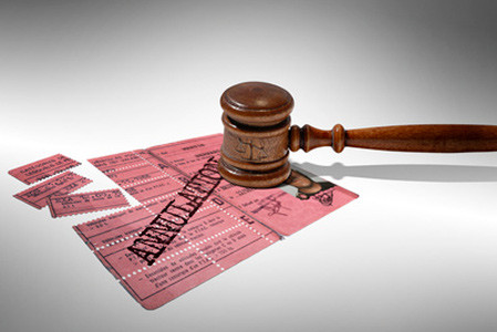 Qu'est ce qu'une invalidation du permis de conduire ?