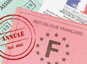 Suspension du permis de conduire et notification de la mesure