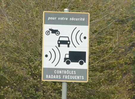 Baisse des recettes générées par les radars automatiques