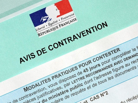 Comment contester un avis de contravention