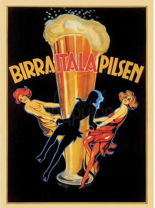 Birra Italia Pilsen Poster