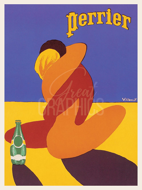 Perrier Poster