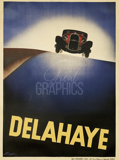 Delahaye Poster