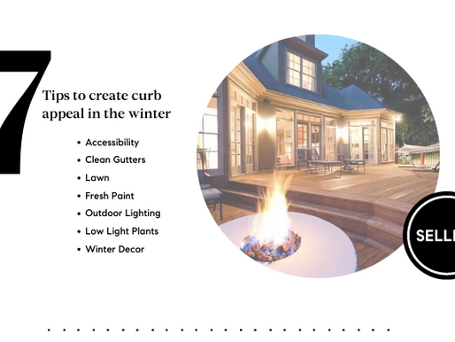 Tips to create curb appeal in winter
