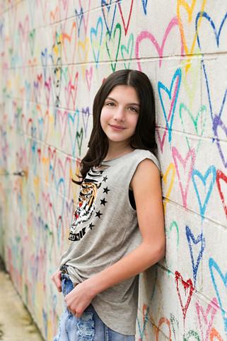 Evie colorful portrait