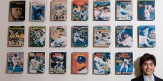 David Bar Mitzvah portraits baseball hall of fame
