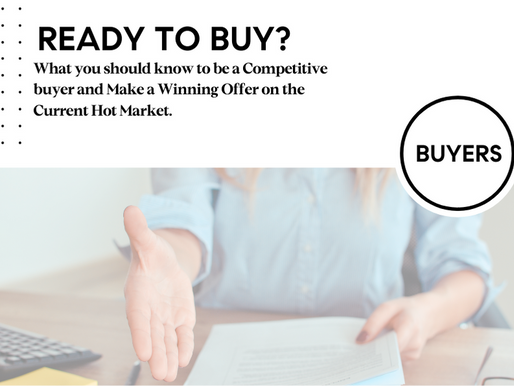 How to be a Competitive buyer and Make a Winning Offer on a Home