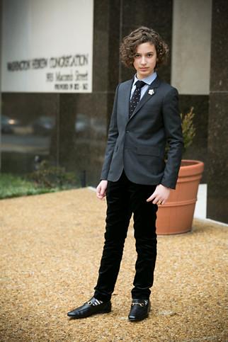 Juian Pre Bar Mitzvah ceremony portraits
