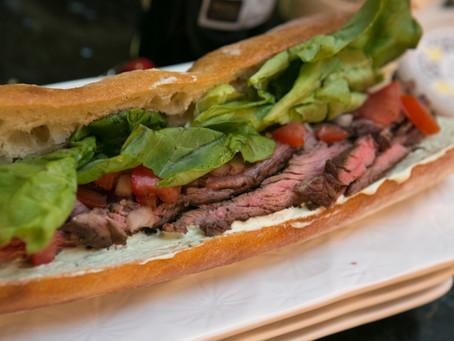 Grilled Steak Sandwich
