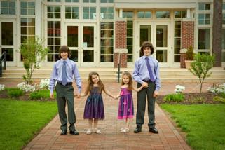 B'nai Mitzvah family portraits
