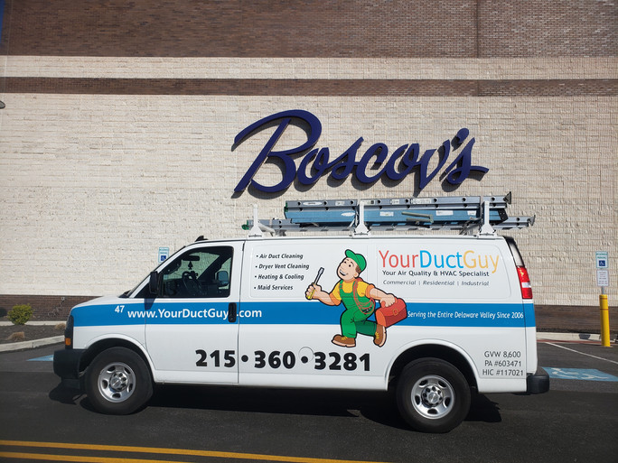 Commercial Air Duct Cleaning