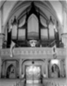 1918 Casavant organ