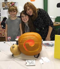 Snail Halloween Pumpkin Contest