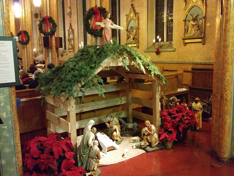 Nativity at St. Patrick's