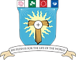 St. Francis and St. Clare parish logo