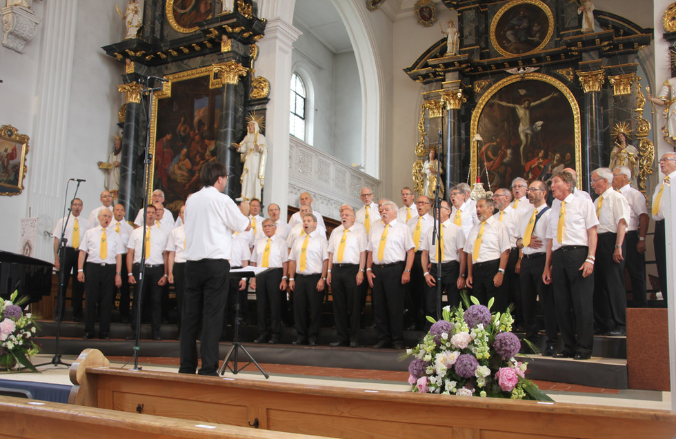 Teilnahme am Innerschweizer Gesangsfest in Hitzkirch
