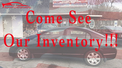 Come See Our Inventory