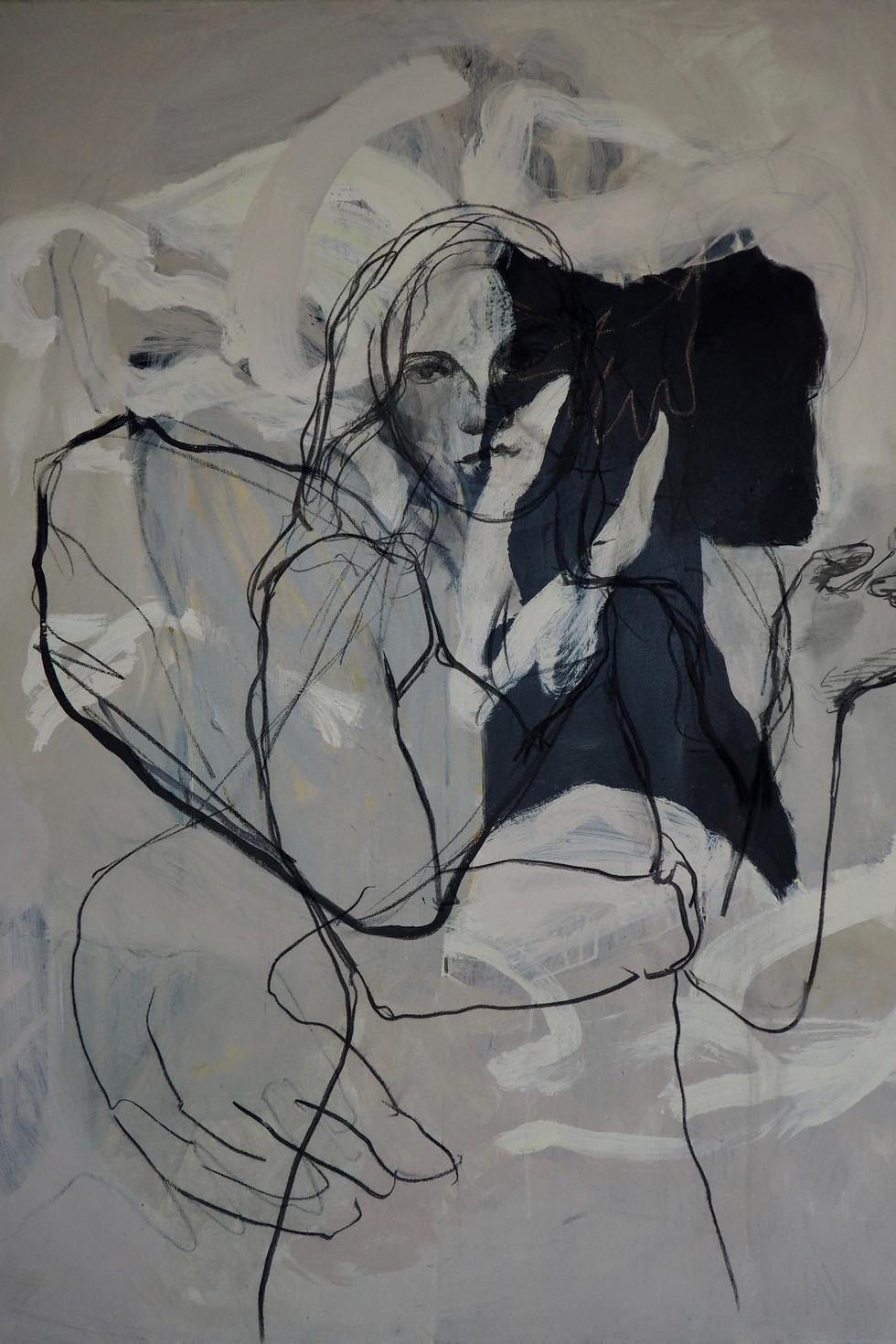 Femme et cigarette (2018)