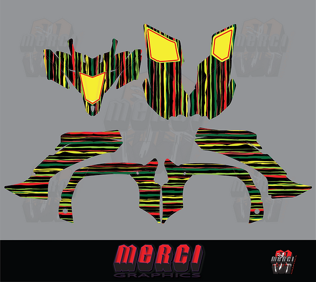 Rasta Quad Graphics