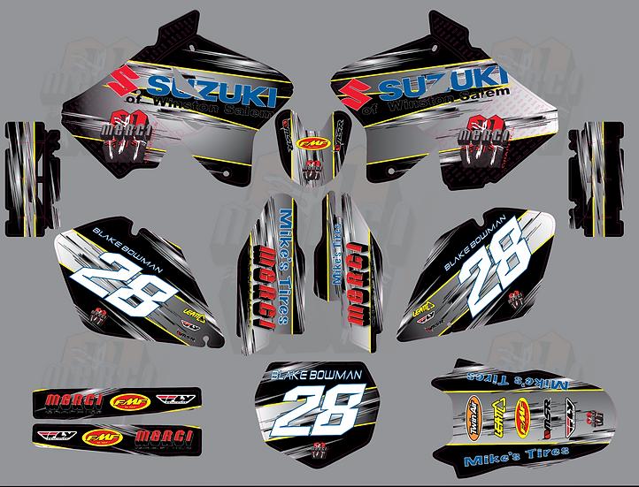 Team Suzuki Graphics