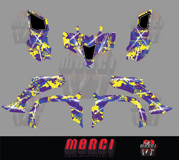 Digi Camo Quad Graphics