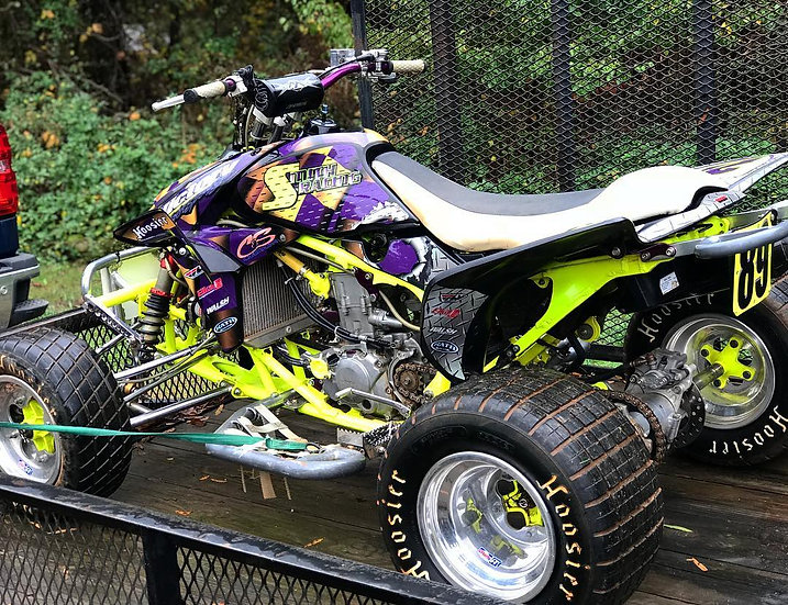 Neon/Chrome Quad Graphics