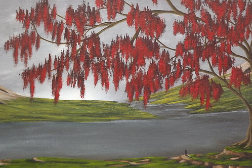Watchful Under Weeping Flora by Ben Yockel