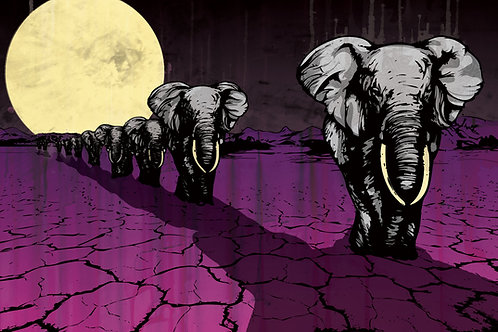 March of the Elephant by Pierce Marratto