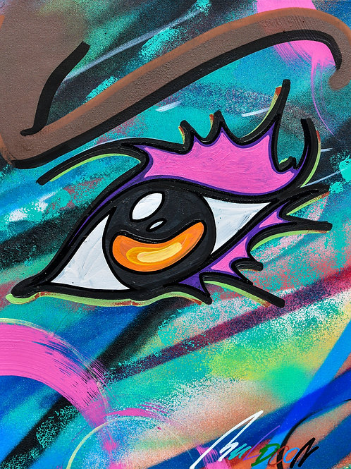 Orange Eye by John Muldoon