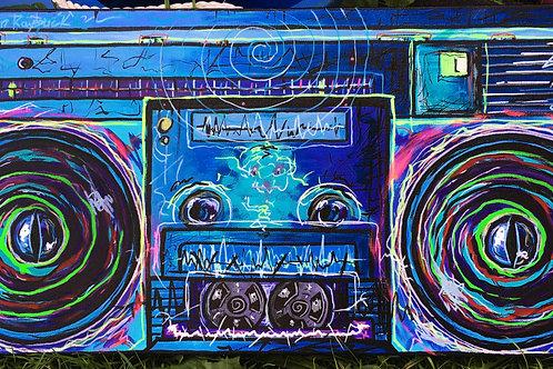 Boombox by Aaron Raybuck