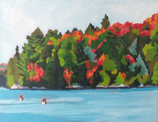 """""""Early Fall - Algonquin Park"""""""