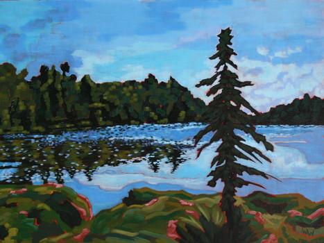 """Found Lake, Algonquin Park"""