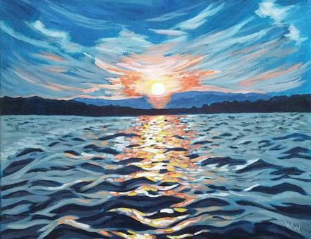 """Manitoulin Island Sunset"""