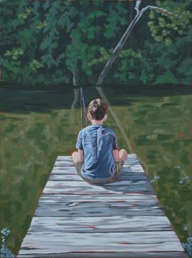 """""""Boy Fishing"""""""