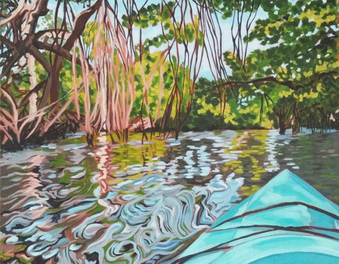 """Mangrove Kayak"""