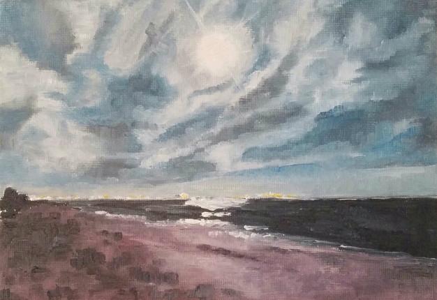 """""""Beach at Dusk"""""""