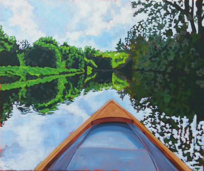 """""""Canoe Two - Speed River"""""""
