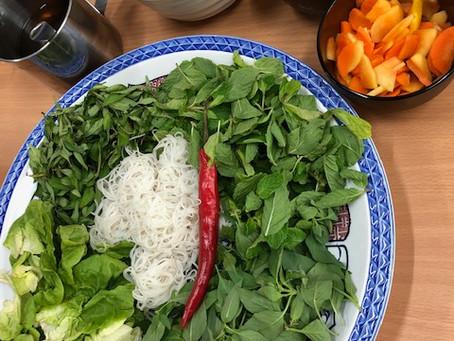 ベトナム料理を作りました!