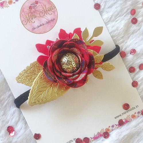 Tartan Flora Headband