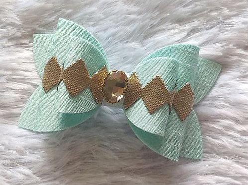 Diamond Bow Clip
