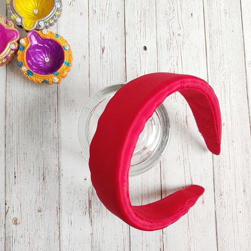 Maira Red Padded Hairband