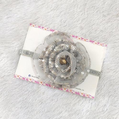 Fulwari Headband -Greyish Silver