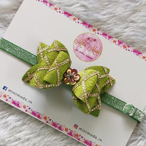 Gota Passion Bow -Seagreen
