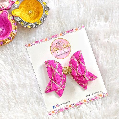 Gota Love Bow - Hot Pink