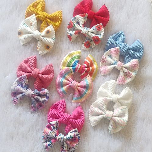 Sweetheart Bow Headband Set Combo