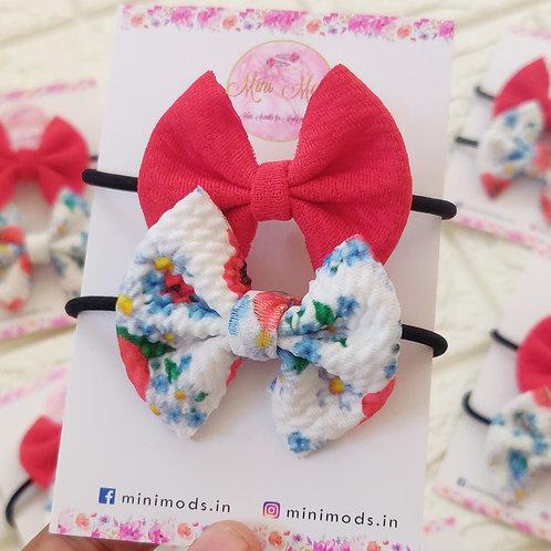 Poppy Hairtie Set