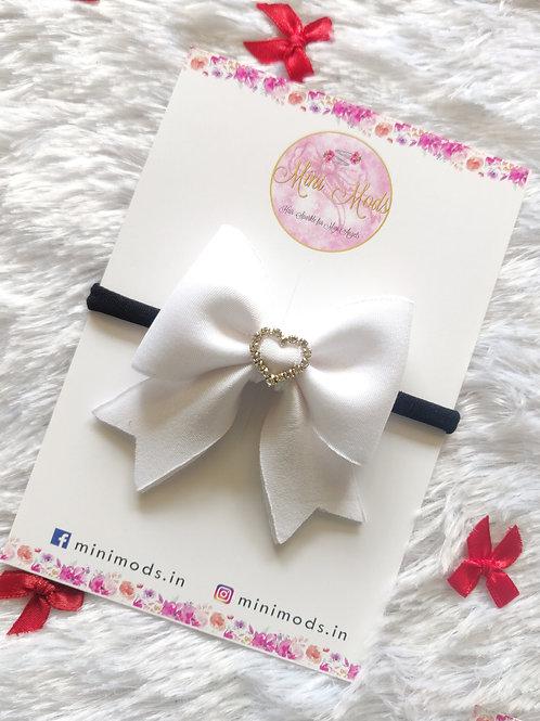 Pure Love Bow - White