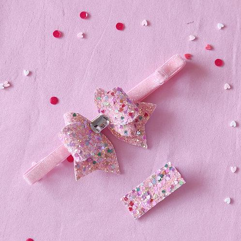Valentine Bash Bow Headband