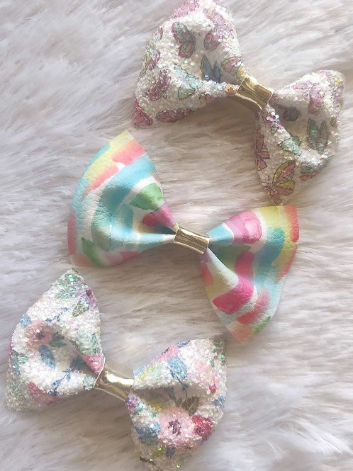 Pretty Summer Bow Set